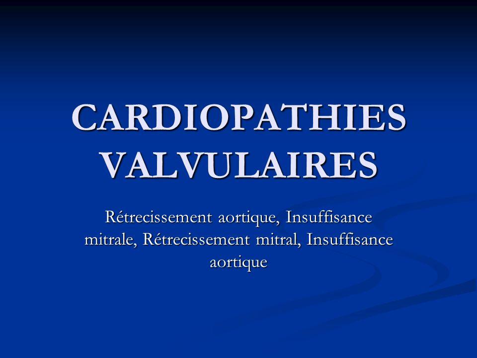 CARDIOPATHIES VALVULAIRES .PDF