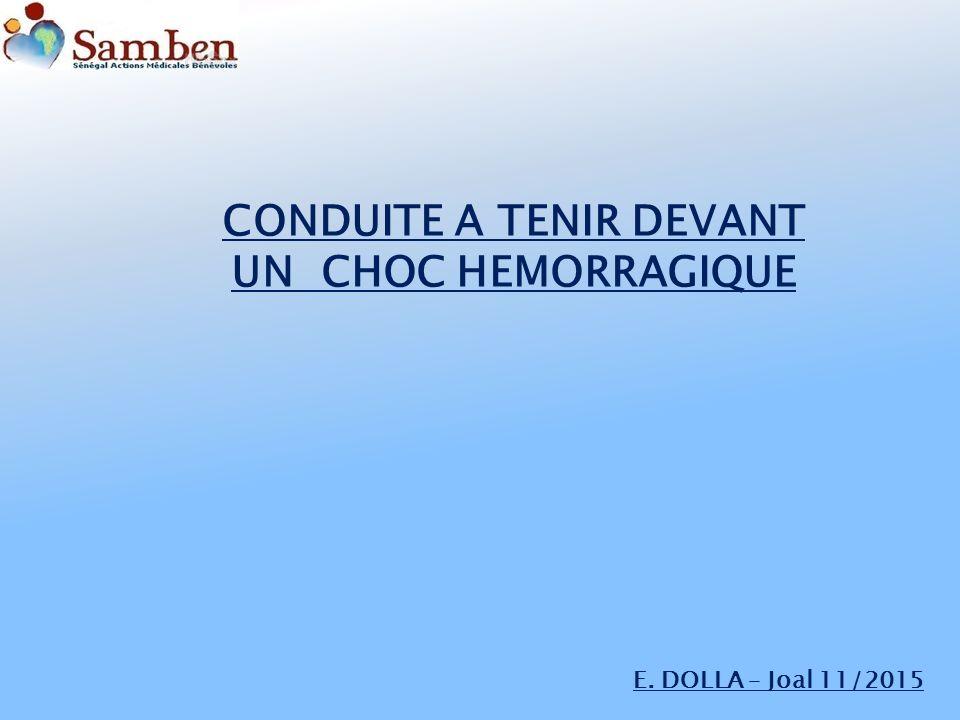 CONDUITE A TENIR DEVANT UN CHOC HÉMORRAGIQUE .PDF