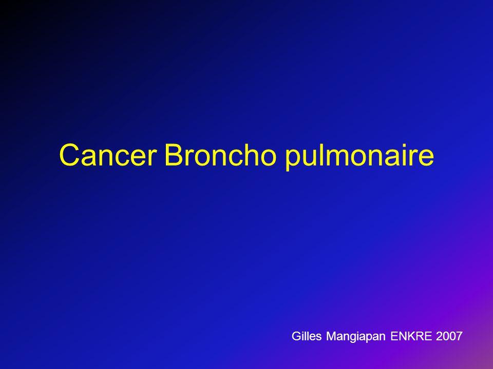Cancer Broncho pulmonaire .PDF