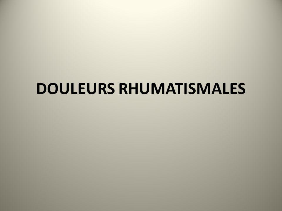 DOULEURS RHUMATISMALES .PDF