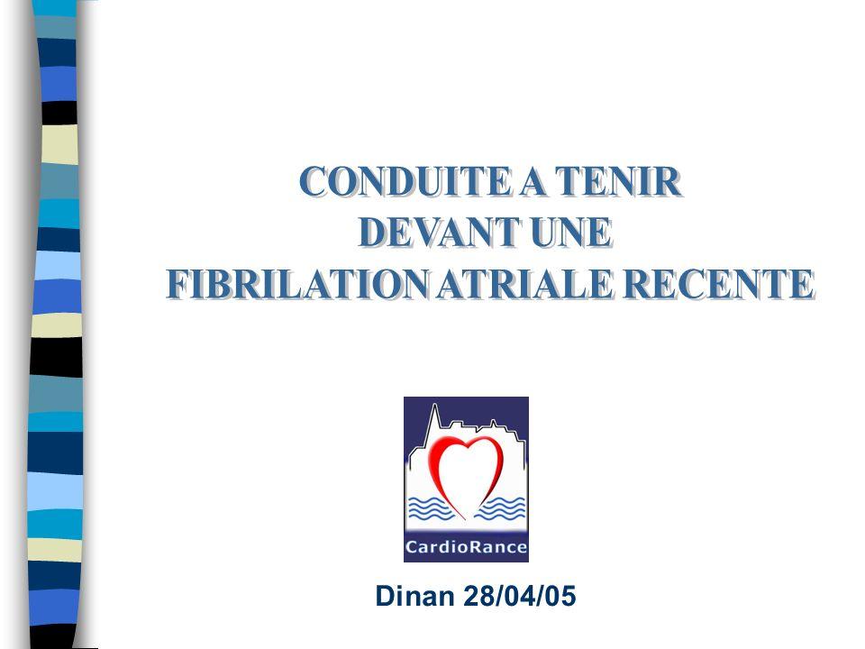 FIBRILATION ATRIALE RECENTE .PDF