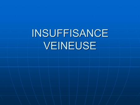 INSUFFISANCE VEINEUSE .PDF