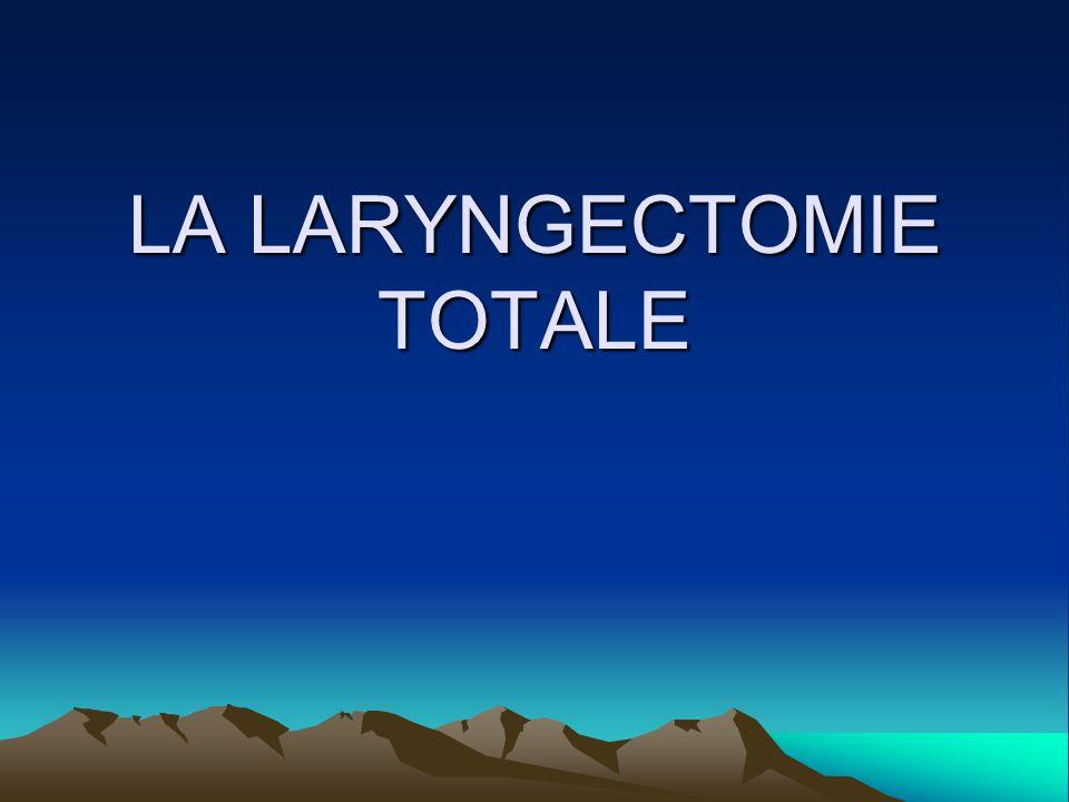 LA LARYNGECTOMIE TOTALE .PDF