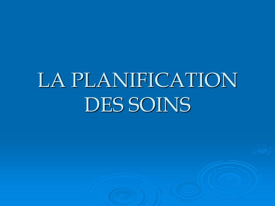 LA PLANIFICATION DES SOINS .PDF