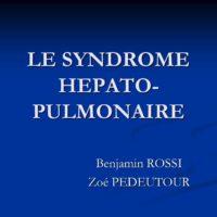 LE SYNDROME HEPATO- PULMONAIRE .pdf
