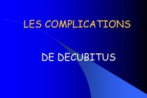 LES COMPLICATIONS DE DECUBITUS .PDF