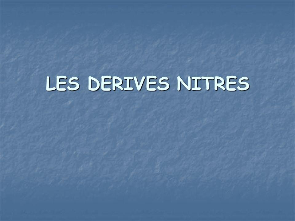 LES DERIVES NITRES .PDF