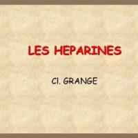 LES HEPARINES .PDF