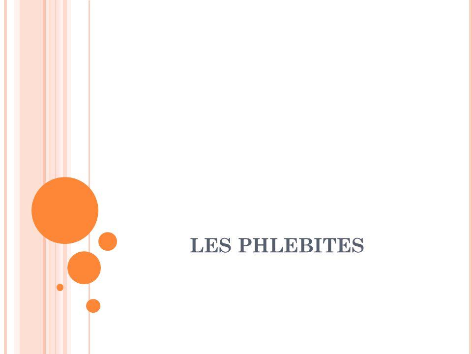 LES PHLEBITES .PDF
