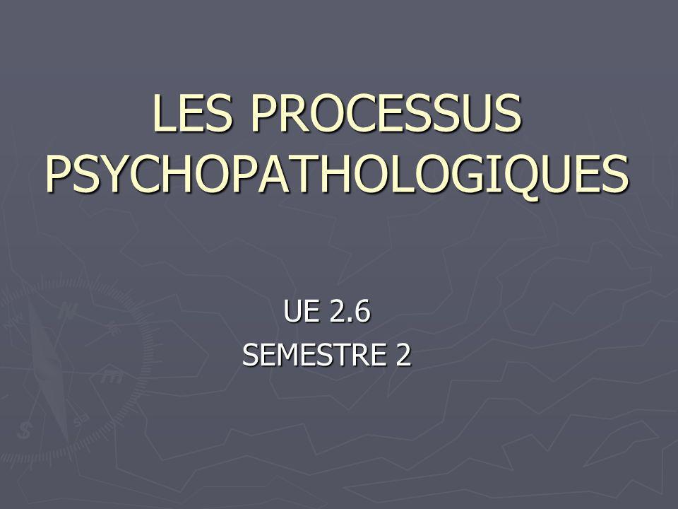 LES PROCESSUS PSYCHOPATHOLOGIQUES .PDF