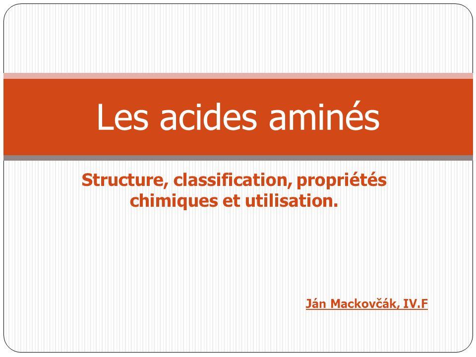Les acides aminés .PDF
