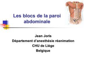 Les blocs de la paroi abdominale .PDF