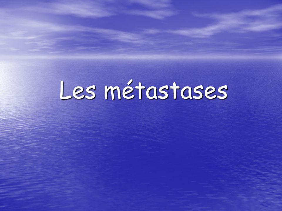 Les métastases .PDF