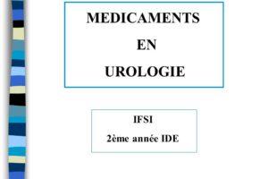 MEDICAMENTS EN UROLOGIE .PDF