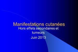 Manifestations cutanées .PDF