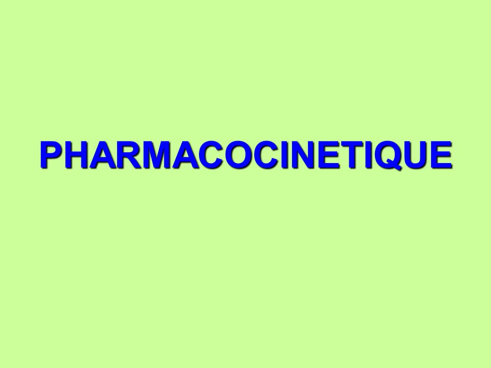 PHARMACOCINETIQUE .PDF