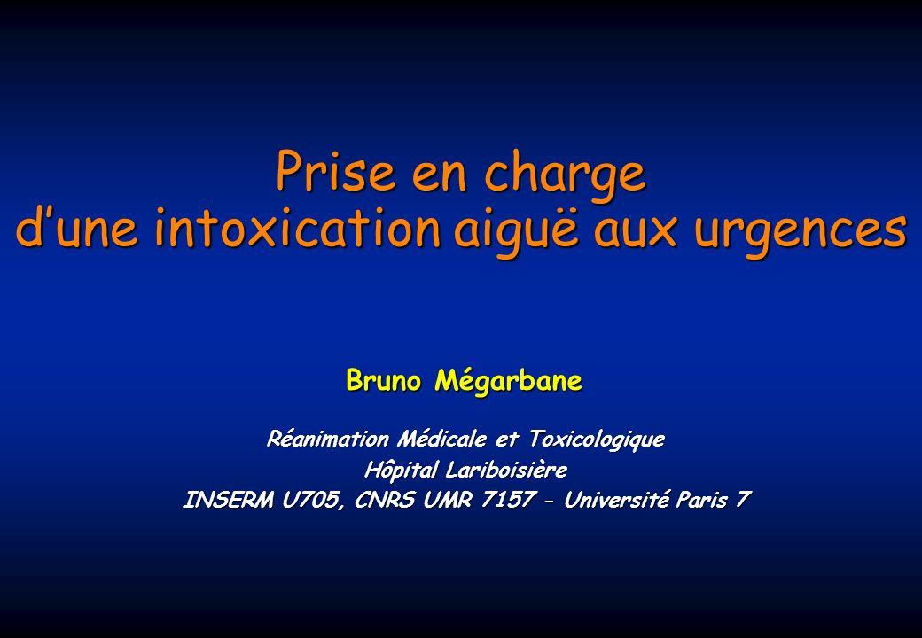 Prise en charge d'une intoxication aiguë aux urgences .PDF
