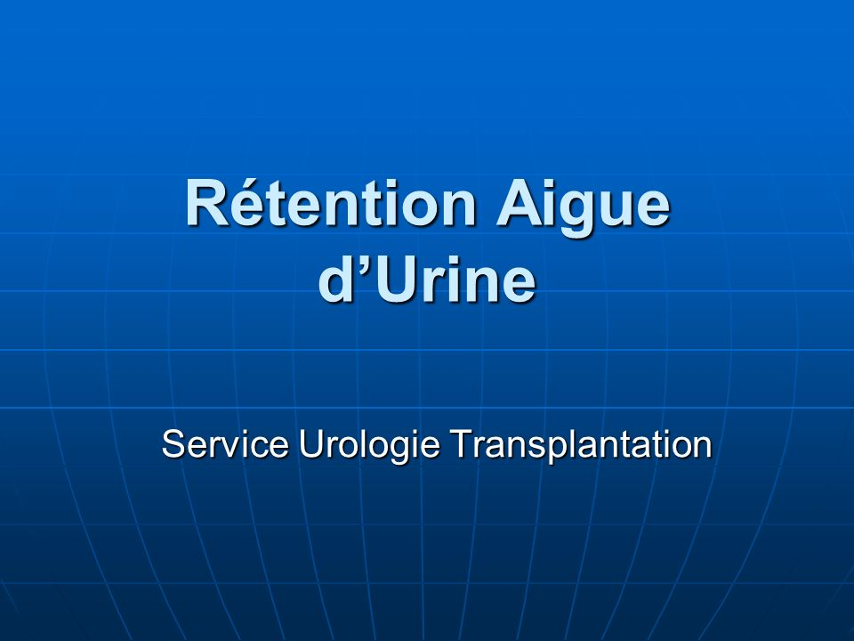 Rétention Aiguë d'Urine .PDF