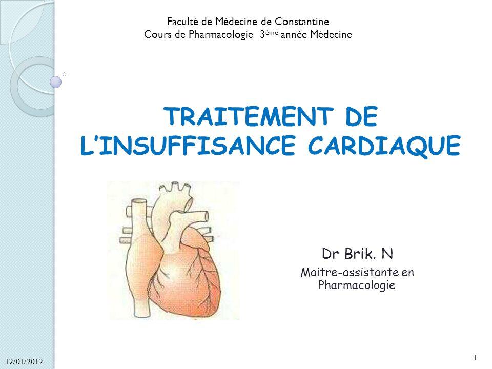TRAITEMENT DE L'INSUFFISANCE CARDIAQUE .PDF