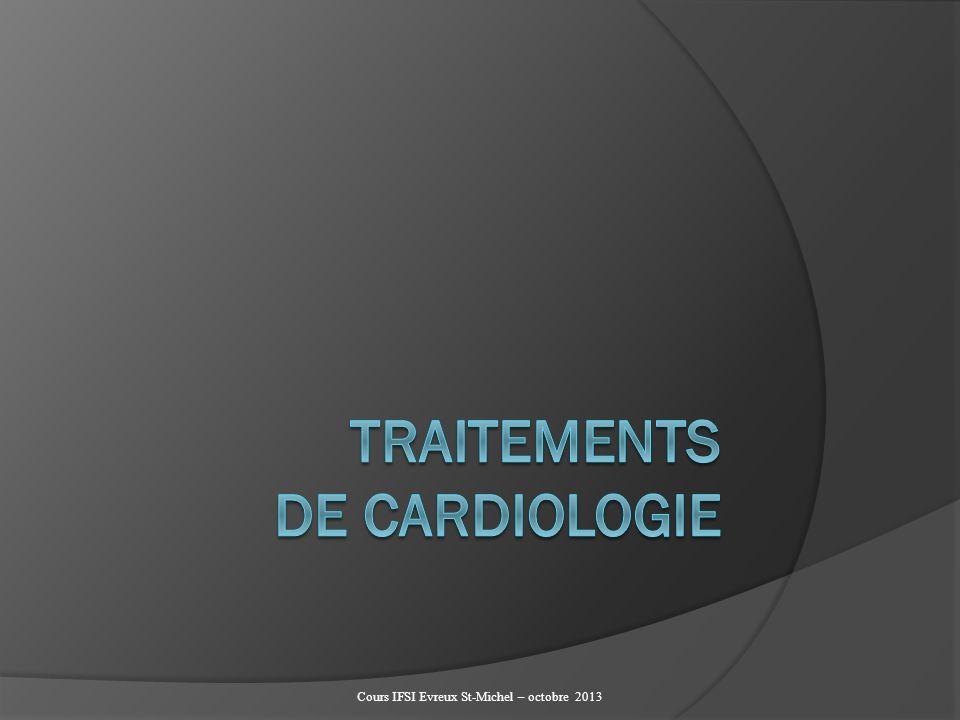 TRAITEMENTS DE CARDIOLOGIE .PDF
