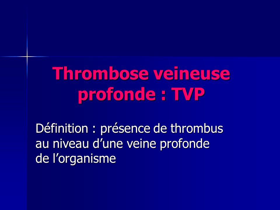 thrombose pdf