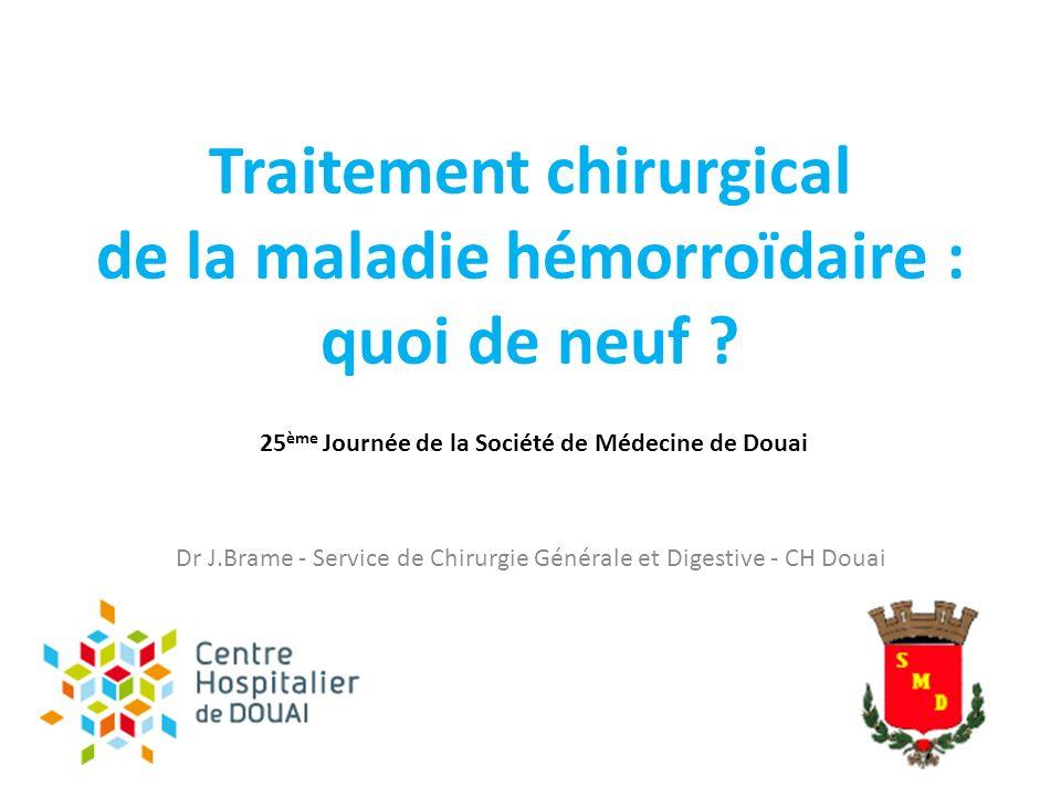 Traitement chirurgical de la maladie hémorroïdaire .PDF
