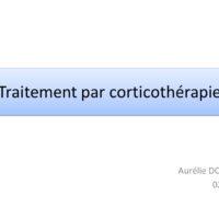 Traitement par corticothérapie .PDF