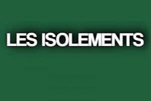 LES ISOLEMENTS .PDF