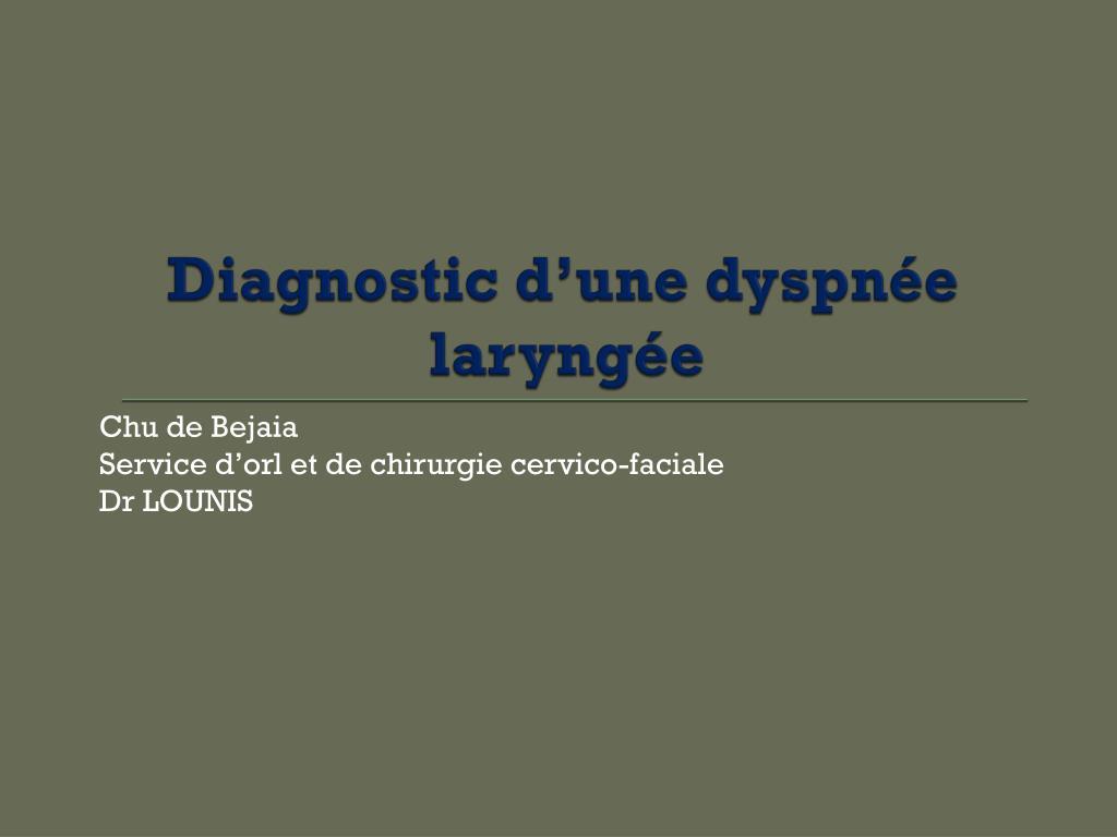 Diagnostic d'une dyspnée laryngée.PDF