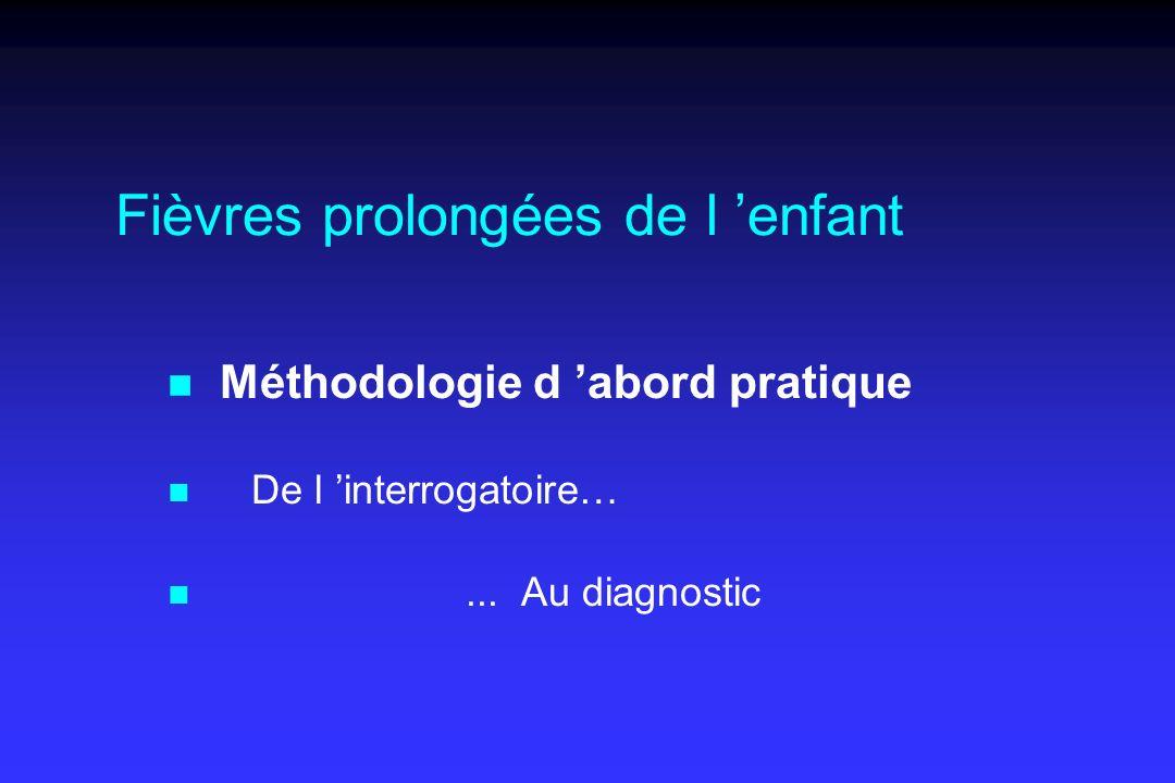 Fièvres prolongées de l 'enfant .PDF