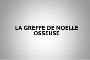 LA GREFFE DE MOELLE OSSEUSE .PDF