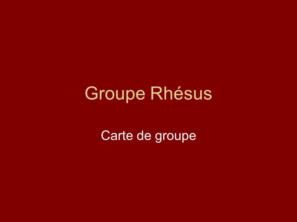 Groupe Rhésus .PDF