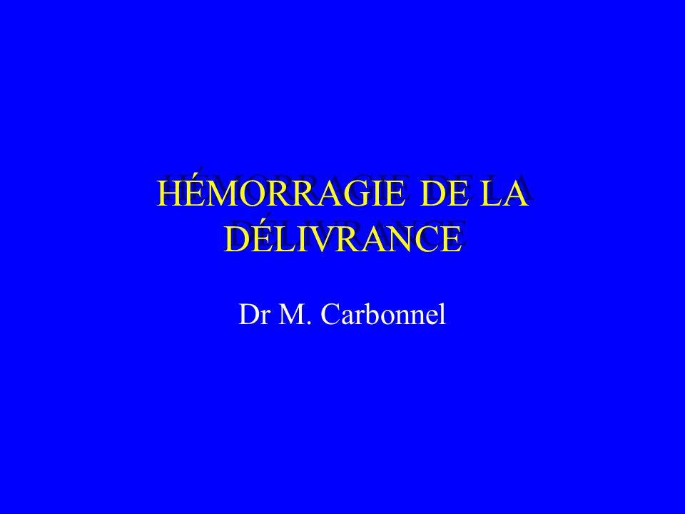 HÉMORRAGIE DE LA DÉLIVRANCE .PDF