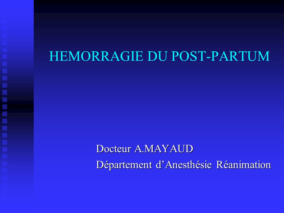 HEMORRAGIE DU POST-PARTUM .PDF