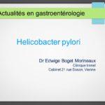 Helicobacter pylori Actualités en gastroentérologie .PDF