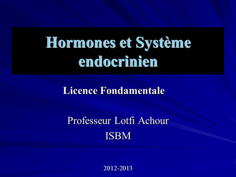 Hormones et Système endocrinien .PDF
