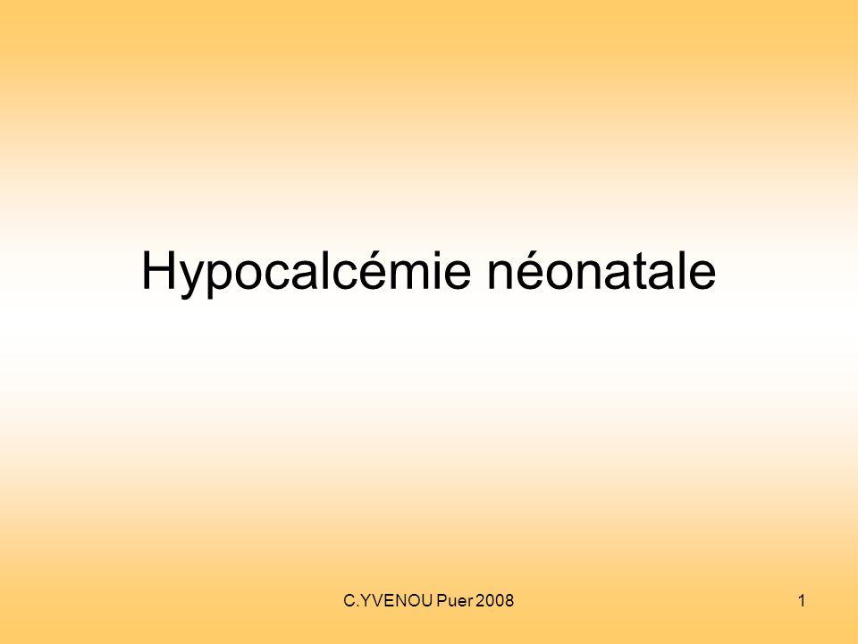Hypocalcémie néonatale .PDF