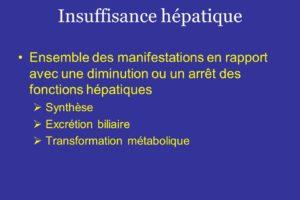 Insuffisance hépatique .PDF