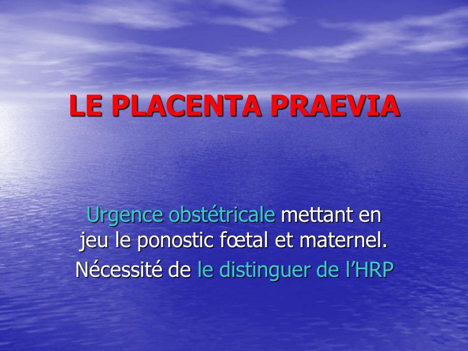 LE PLACENTA PRAEVIA .PDF