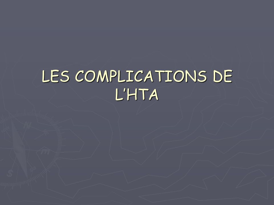 LES COMPLICATIONS DE L'HTA .PDF