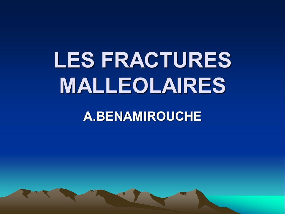 LES FRACTURES MALLEOLAIRES .PDF