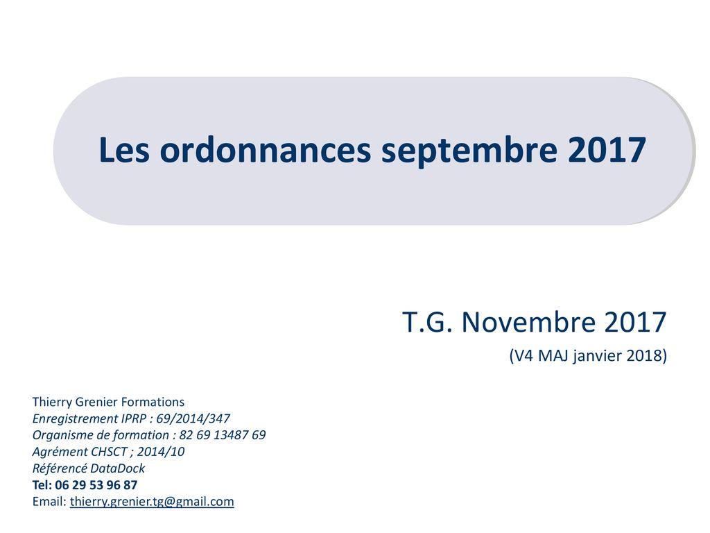 Les ordonnances .PDF