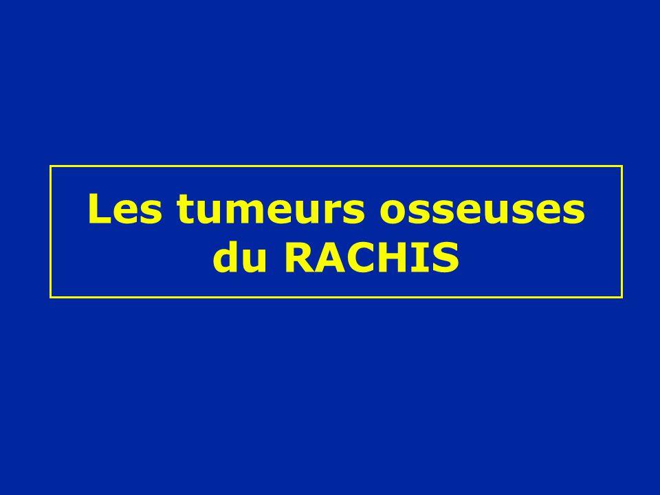 Les tumeurs osseuses du RACHIS .PDF