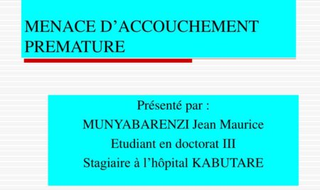 MENACE D'ACCOUCHEMENT PREMATURE .PDF