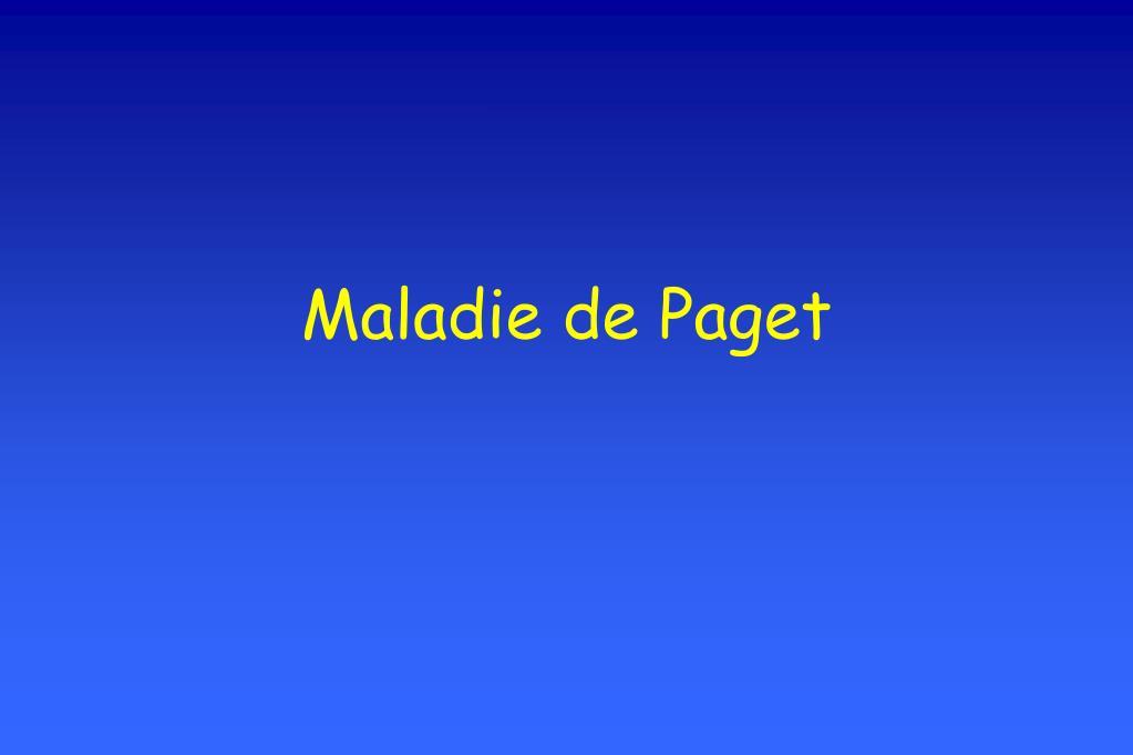 Maladie de Paget .PDF