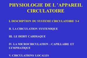 PHYSIOLOGIE DE L 'APPAREIL CIRCULATOIRE .PDF