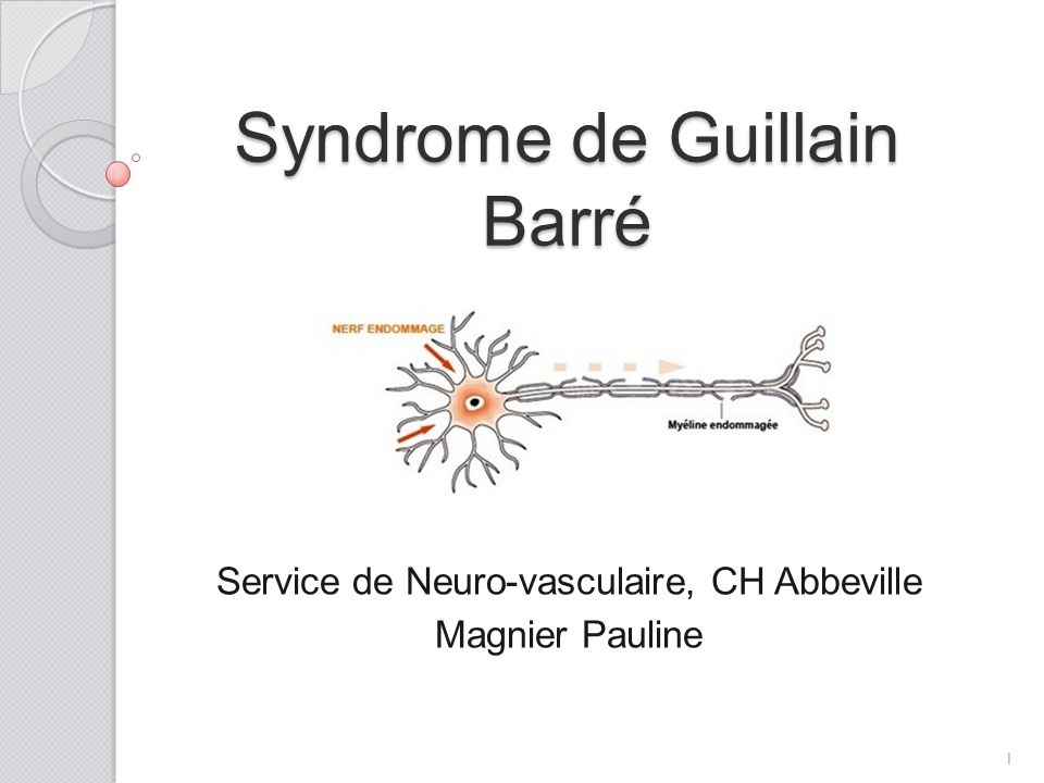 Syndrome de Guillain Barré .PDF