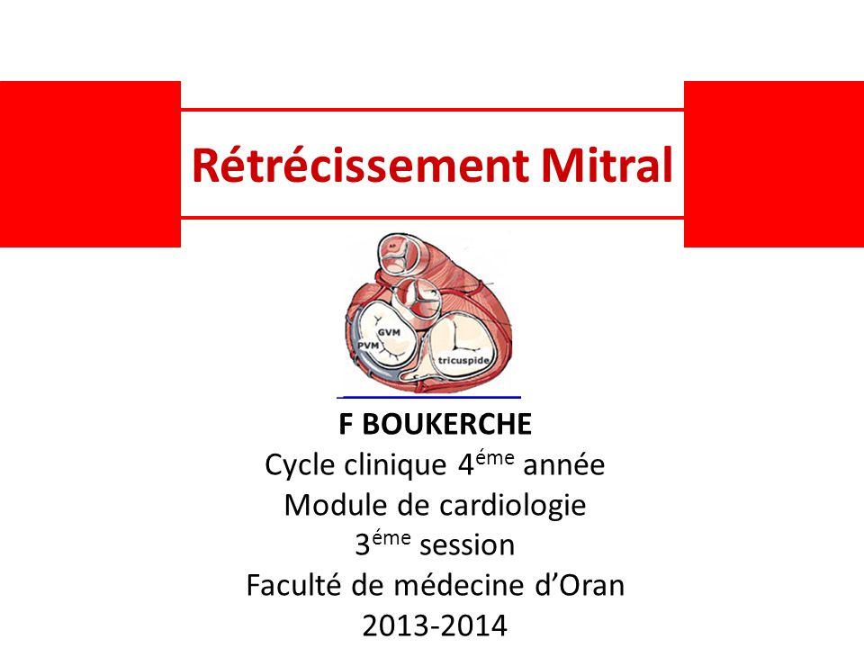 Rétrécissement Mitral .PDF