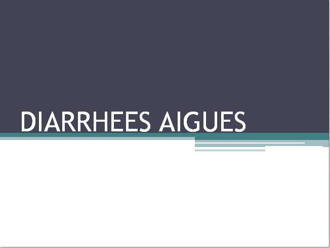DIARRHEES AIGUES .PDF