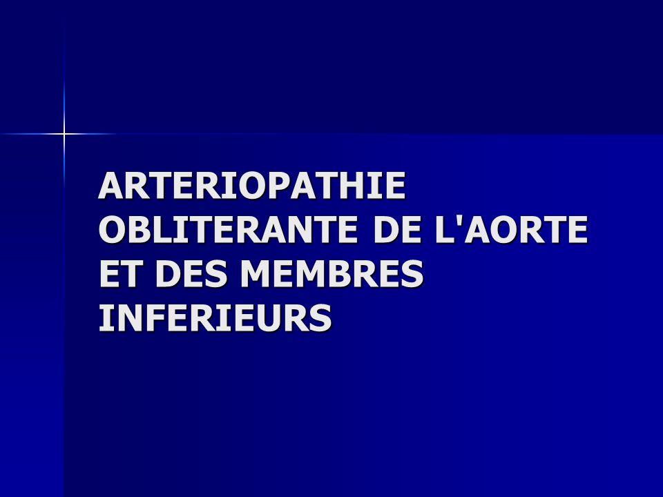 ARTERIOPATHIE OBLITERANTE DE L'AORTE ET DES MEMBRES INFERIEURS .PDF